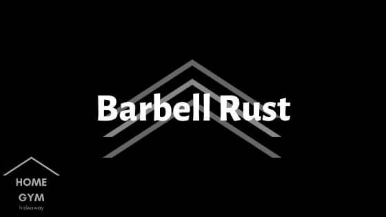 Barbell Rust